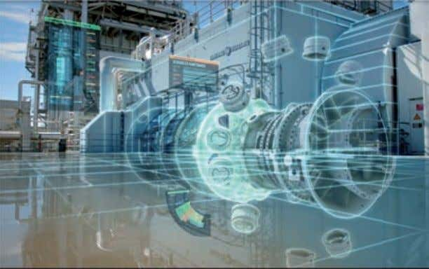 new project through ongoing development of applications. GE Power has signed a multi-year service agreement with