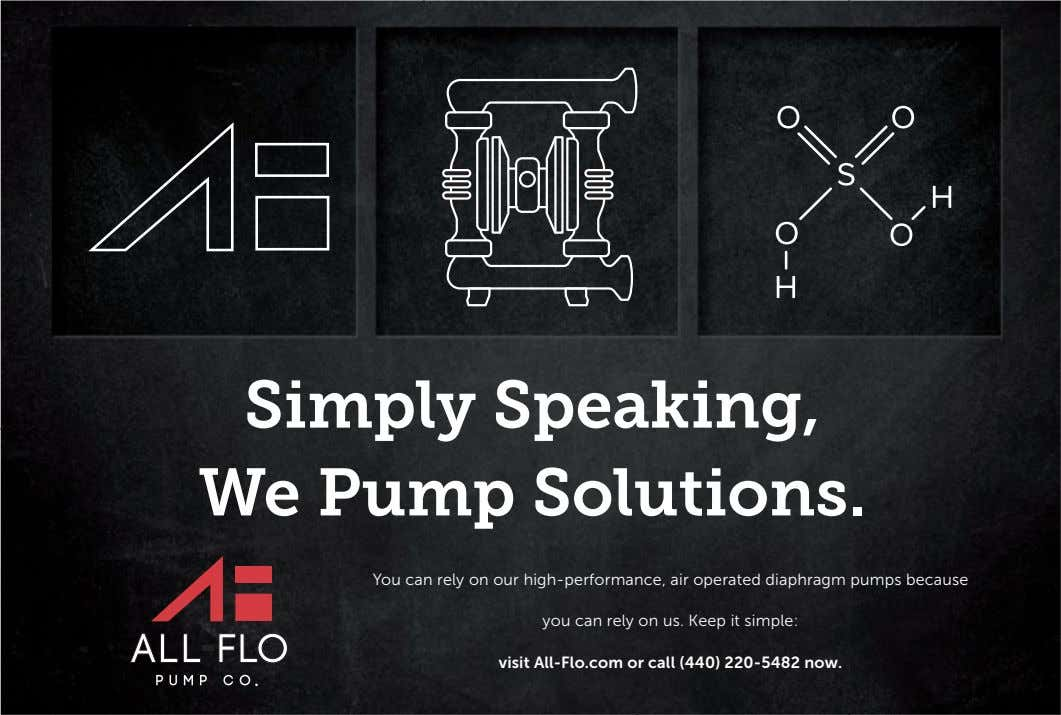 Simply Speaking, We Pump Solutions. You can rely on our high-performance, air operated diaphragm pumps