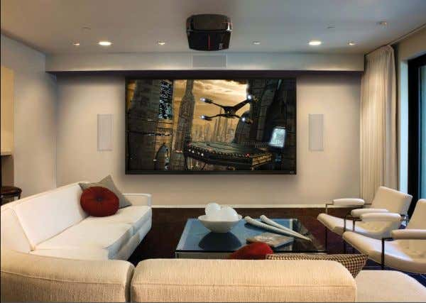 AVM 50v audio/video processor + Anthem Room Correction (ARC ™ ) Shown: LTX 500 Projector