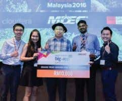 MAKING HISTORY - AWARDS AND ACHIEVEMENTS E-GENTING PROGRAMMING COMPETITION (r&D DIVIsIon, EgEnTIng) 2015 -
