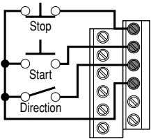 Stop Start Direction