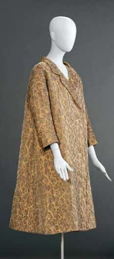 and supply matching yarns and narrow trims when requested. Designed by Cristobal balenciaga in the 1950s,