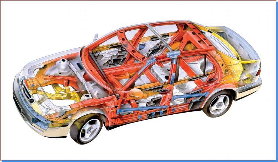 Unibody Construction The frame is an integral part of the body
