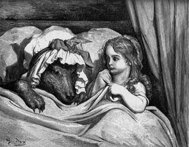 Historical Images Little red riding hood Little red riding hood has been a classic and has