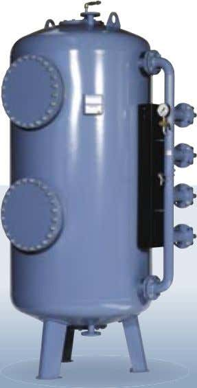 NSB is ideal for small and medium drinking water supplies. Manuel/automatisk Manual/automatic pressure trykfilter