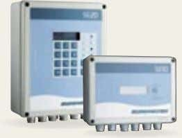 regulation and monitoring, web-based systems, and systems based on GSM communication. SE10 and SE20 controls. Control