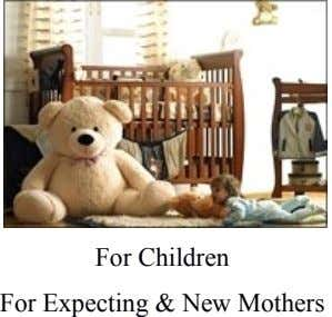 For Children For Expecting & New Mothers