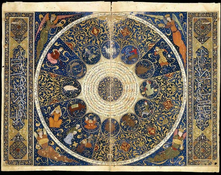 HISTORY The Occult in Islamic Material Culture Spring 2018 Horoscope of Timurid prince, Iskandar Sultan, 15