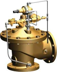 MODEL 50-49 Seawater Service Pump Start Pressure Relief Valve • Seawater Service Materials • Reduced Cavitation