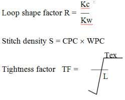 cm and stitch length) Ks: Kc Kw (product of Kc and Kw) Impact Factor (JCC): 2.9594