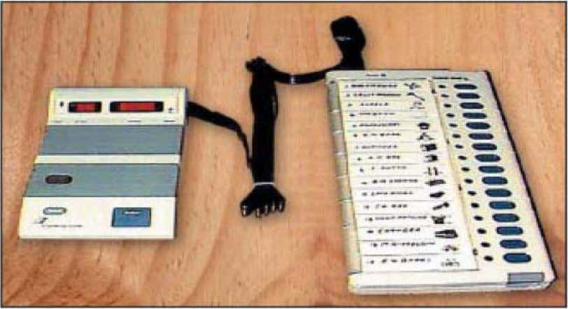 A guide for the Voters Control unit and Balloting Unit of Electronic Voting Machine