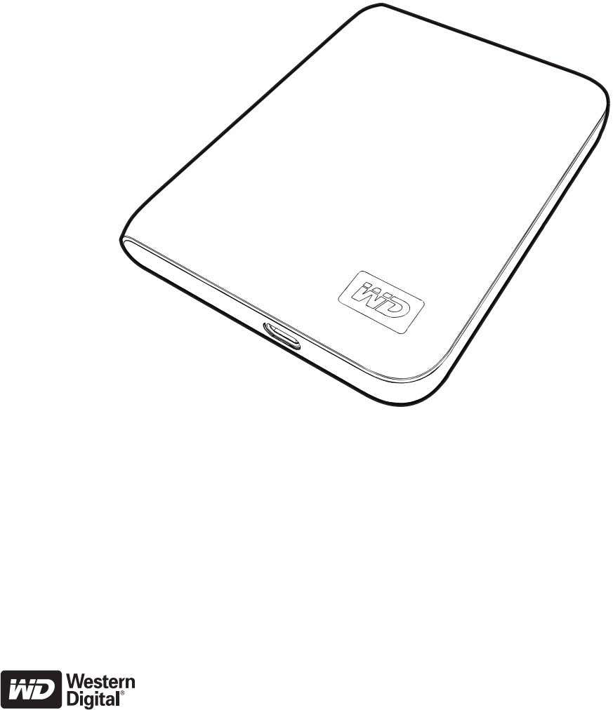 External Portable My Passport ™ Essential Portable Hard Drive User Manua l placeholder ™