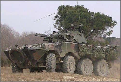 Armored Modular Vehicle (AMV), 8x8 Combat Vehicles (CVs) Schützenpanzer (SPz) VBC with AMAP-B Medium Armor