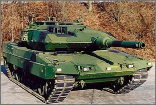 Vehicles: Heavy Tanks like Leopard 2 A4 Evolution, MBT 122 MBT 122 with AMAP-B Heavy Armor