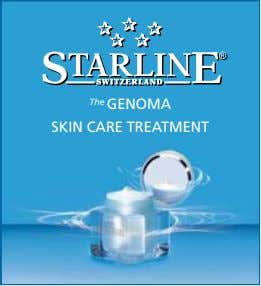 The GENOMA SKIN CARE TREATMENT