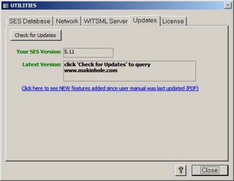 2.5 Updates SES v5.11 SES is regularly enhanced based on SES user feedback and SES long-term