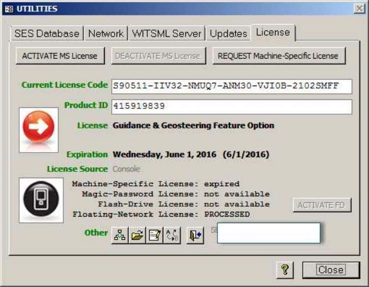 2.6 License SES v5.11 A valid, non-expired License is required to run featured SES. SES supports