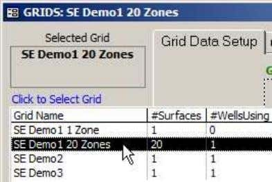 A Grid dataset may cover a large expanse and be used by multiple wells .