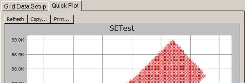 3.4 Quick Plot SES v5.11 Quick Plot tab is used to generate a basic X-Y scatter