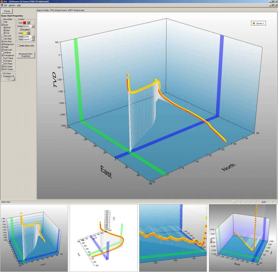 SES v5.11 6.4.1 Viewer Options An improved 3D Viewer screen is included in this version of