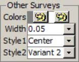 When 3D Viewer is loaded from Surveys screen, the Surveys screen selected Survey dataset is