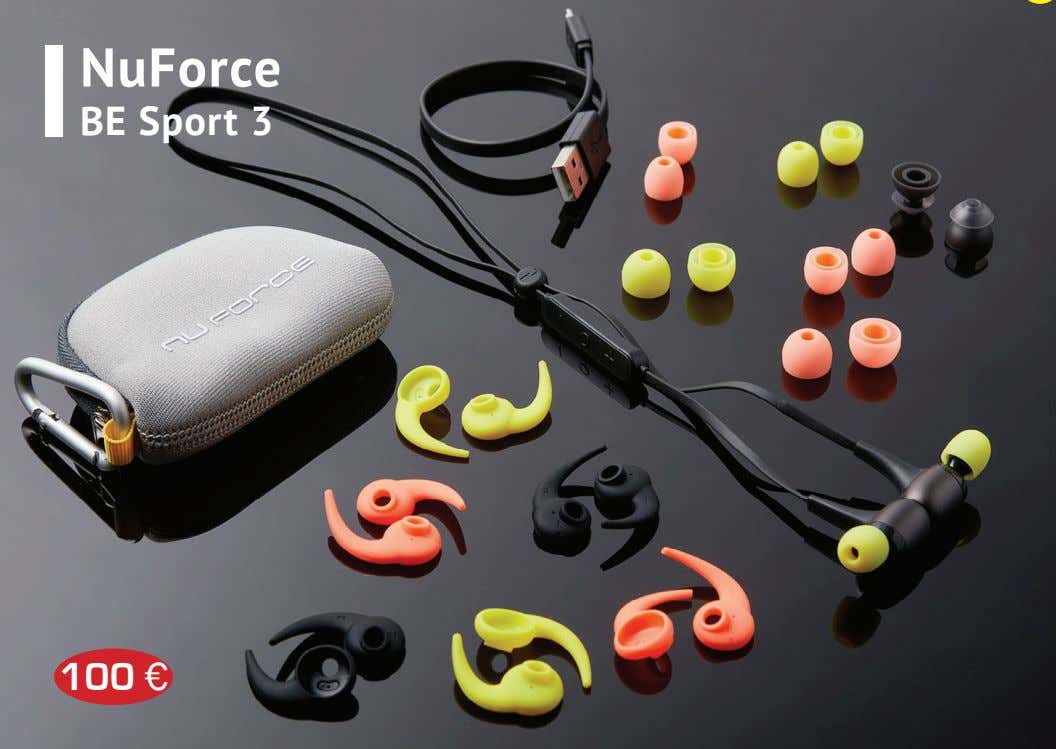 NuForce BE Sport 3 100 €