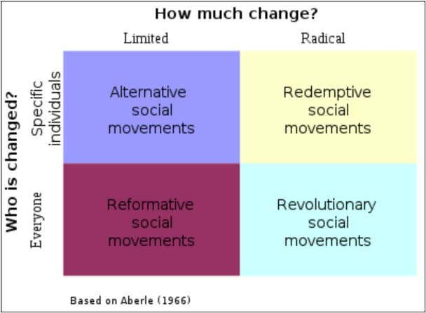 Types of social movements. [ 4 ]