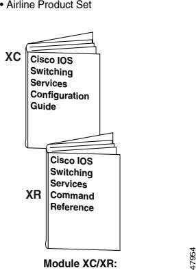 • Airline Product Set Cisco IOS Switching XC Services Configuration Guide Cisco IOS Switching Services