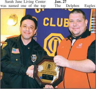 Sarah Jane Living Center was named one of the top Jan. 27 The Delphos Eagles