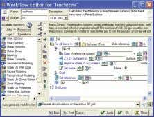 the workflow editor is still the engine behind the scenes. Workflow editor, Petrel 2002SE 30 Uncertainty