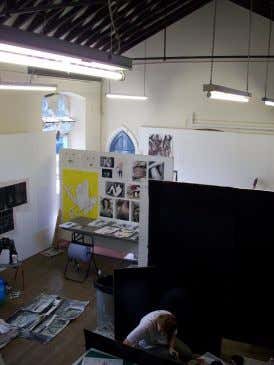 of their new studio and gallery spaces at TAP in Southend). • The most appealing work