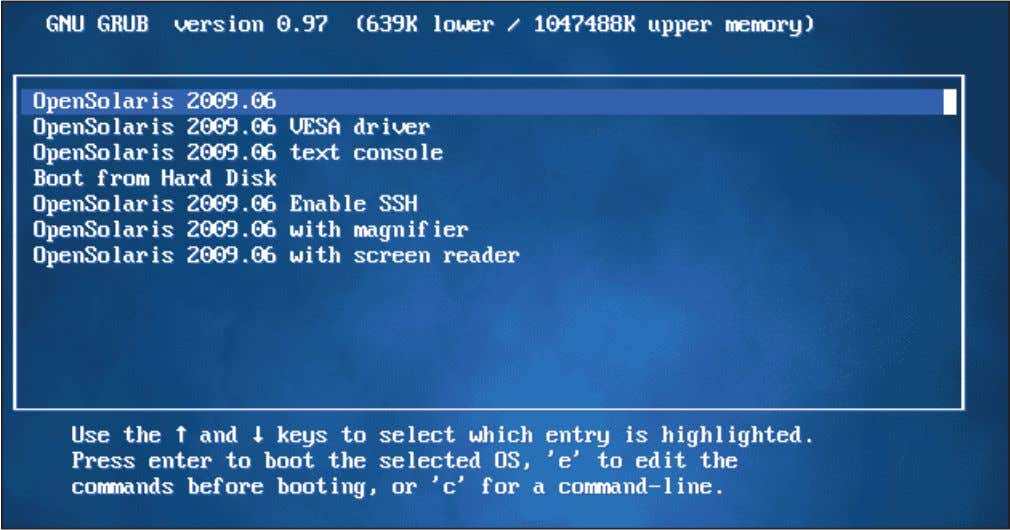 your machine's CD drive and reboot. Once the machine OpenSolaris 2009.06 LiveCD desktop with Device Driver