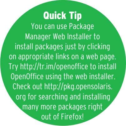 Quick Tip You can use Package Manager Web Installer to install packages just by clicking