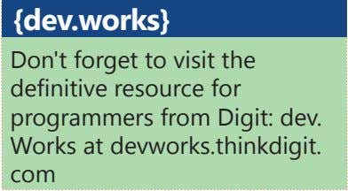 {dev.works} Don't forget to visit the definitive resource for programmers from Digit: dev. Works at