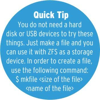 Quick Tip You do not need a hard disk or USB devices to try these