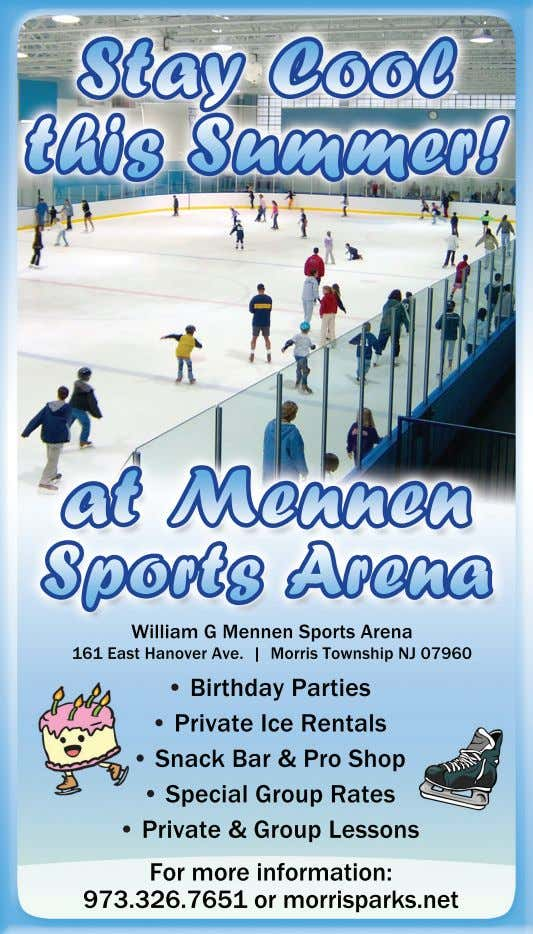 Stay Cool this Summer! at Mennen Sports Arena William G Mennen Sports Arena 161 East