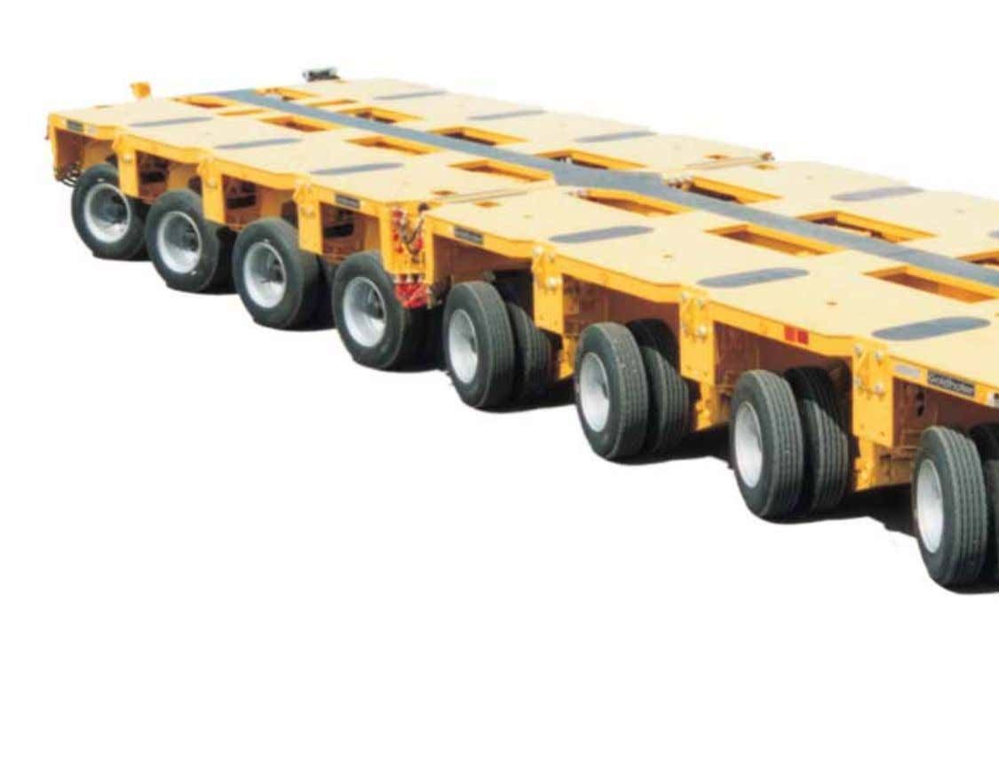 devices, loading bridges, long load equipment, etc. ensure an optimum adaptation to load and transport route