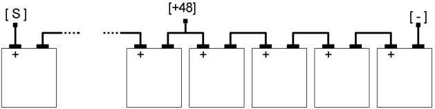 batteries as shown in figure Device /B1 type Device /B2 type Up to 10 batteries (
