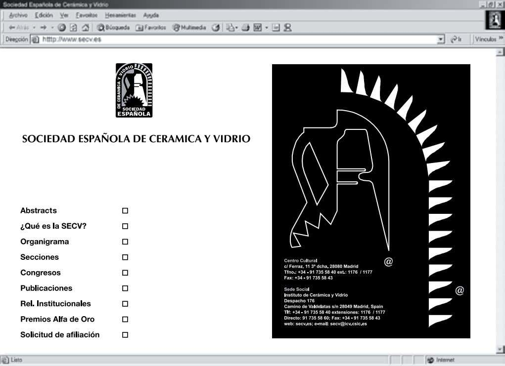 V.2.0. Shape Software. 1991. Recibido: 01.02.03 Aceptado: 30.11.03 Bol. Soc. Esp. Ceram. V., 43 [ 1]