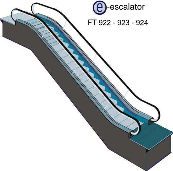 -escalator FT 922 - 923 - 924