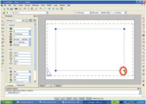 3. Create the view on the sheet. 62 Create the ViewPort to display the model on