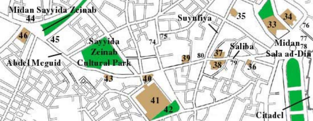 Just north of the Citadel is Midan Sala ad-Din. The square was built in the