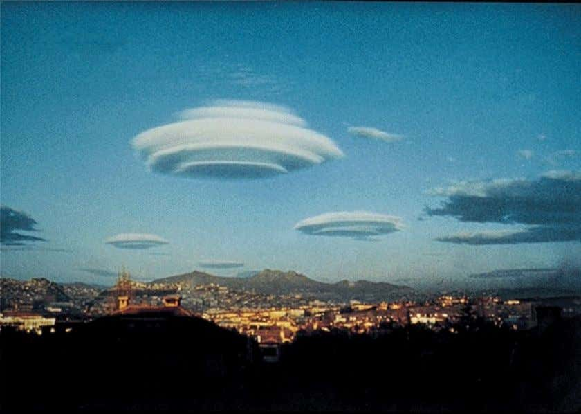 Perceptual Set: Schemas Flying Saucers or Clouds?