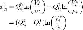 . From (70) Now from (5) we see that at an equilibrium point and Using (71)