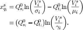 (70) Now from (5) we see that at an equilibrium point and Using (71) and (72)