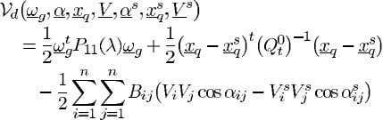 (62), the Lyapunov function for the MA model can be written TABLE I SEP P OWER