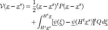 (38) (39) The Lyapunov function subsequently generated is (40) The derivative of this function along system