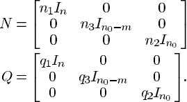 We require the transfer function Let to be positive real. Conditions were established in [13] which