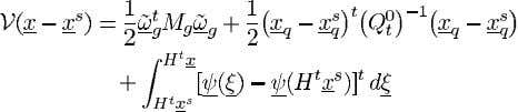 generality, we can therefore let 1. The resulting function (42) can be interpreted as a Lyapunov