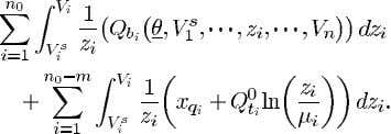 second integral is zero. The third integral can be written (51) The first term of (51)